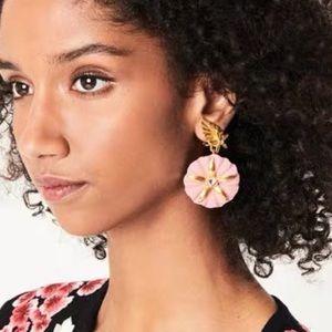 Oscar de la Renta Morning Glory Ear Clip Pink